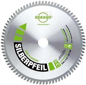 Edessö 46921630 HM-Lame de scie circulaire précision-flèche d'argent, Gris/Vert, ∅ 216 mm, Denture: 64