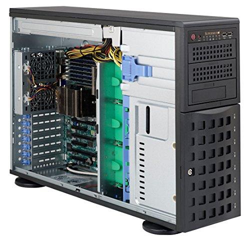 Super Micro CSE-745TQ-R800B Big-Tower Server Gehäuse (S-ATA/SAS, 800 Watt Redundant)