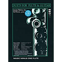 Duets for Flute & Guitar - Vol. 2: Music Minus One Flute Deluxe 3-CD Set