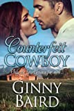 Front cover for the book Counterfeit Cowboy by Ginny Baird