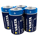 Varta Longlife Power Batterie D Mono Alkaline Battere LR20 - 4er Pack