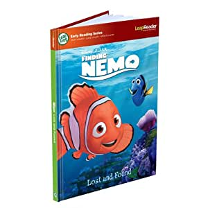 LeapFrog LeapReader Early Reader Book: Disney-Pixar Finding Nemo Lost and Found (Works with Tag)