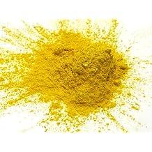 Magic Yellow 15g - Magic Mica en poudre jaune 15 grammes, Pearl Powder métalliques jaunes, cosmétiques Mica en poudre pour les rouges à lèvres, baume à lèvres, Bath Bombs et plus, tranche de la lune