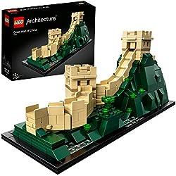 Lego Architecture Grande Muraglia Cinese,, Taglia Unica, 21041
