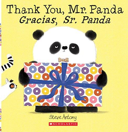Thank You, Mr. Panda / Gracias, Sr. Panda (Bilingual) por Steve Antony