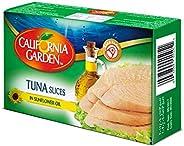 California Garden Tuna Slices In Sunflower Oil 120G (Pack Of 1)