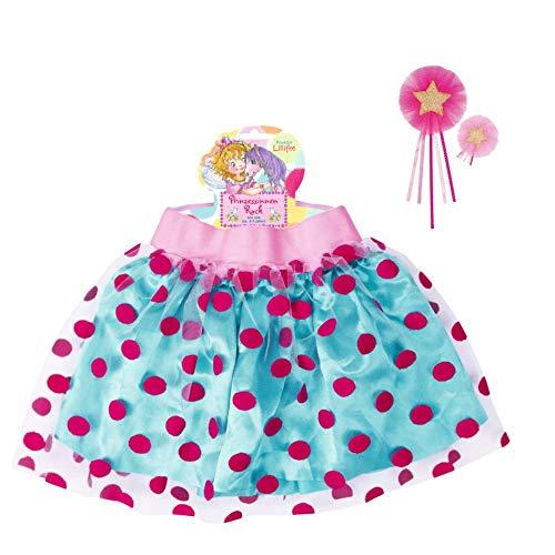 Prinzessin Kostüm Lillifee - Spiegelburg Prinzessin Lillifee 2er Set 12891 13855 Rock + Zauberstab (Sortiert)