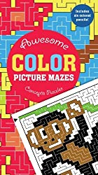 Awesome Color Picture Mazes (Conceptis Puzzles) by Conceptis Puzzles (2009-01-31)