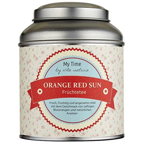 My Time Orange Red Sun, Früchtetee Blutorange, 1er Pack (1 x 120 g) (Blut-orangen-aroma)