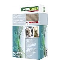 Windhager Winter-Vlies Superprotect XXL Thermovlies Kälteschutz Frostschutz für Pflanzen, Beige, 1,4 x 2 m, 70 g/m², 06732