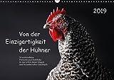 Von der Einzigartigkeit der Hühner (Wandkalender 2019 DIN A3 quer): Intelligent und wunderschön - kunstvolle Hühnerportraits (Monatskalender, 14 Seiten ) (CALVENDO Tiere)