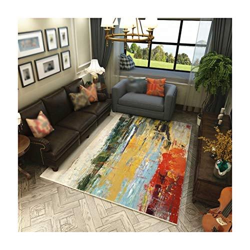 William 337 Teppiche Teppich American Home Wohnzimmer Couchtisch Teppich Einfache Europäische Teppich Schlafzimmer Anti-Rutsch-Matte Matten (Farbe : C, größe : 200cm*300cm) -
