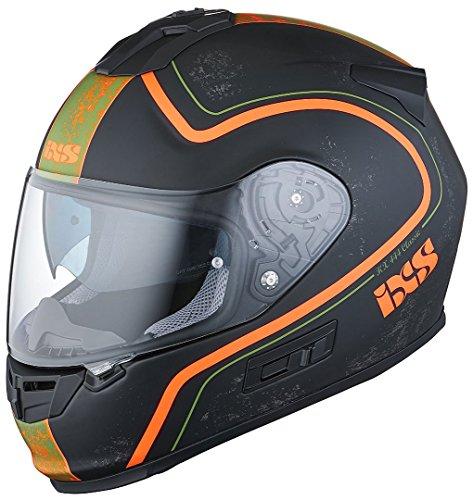 Preisvergleich Produktbild IXS X-Helm HX 444 CLASSIC,  Größe:XX-Large,  Farbe:schwarz-orange matt