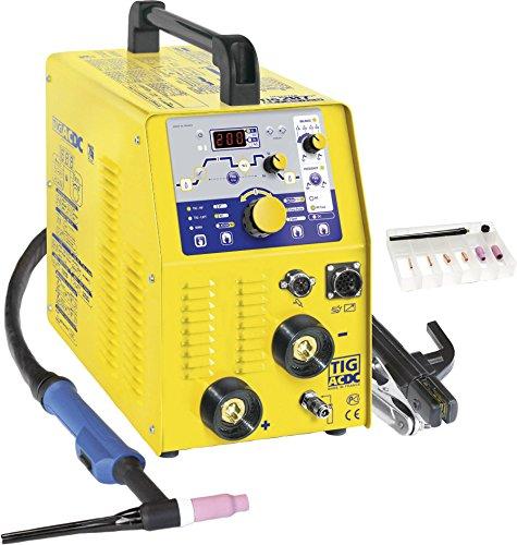Poste à souder Inverter Tension de fonctionnement 230 V/50 Hz Courant de soudage (AC/DC) 10 - 200/5 - 160 A GYS TIG 207