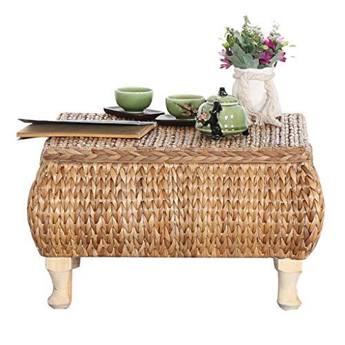 5 IN 1 TABLE Beistelltische Couchtisch Balkon Erkerfenster Teetisch Computertisch Haushalt Tatami-Tisch Sofa-Beistelltisch Handgefertigt Geschenk (Color : Yellow, Size : 43 * 43 * 30cm)