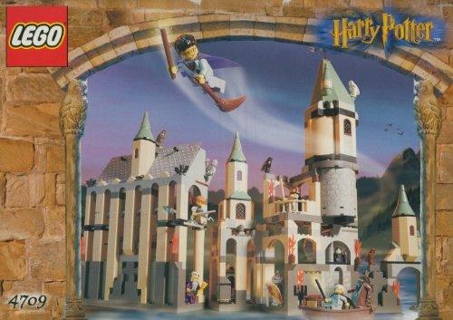 LEGO - 682 piezas Representación precisa de la escuela de Harry Potter