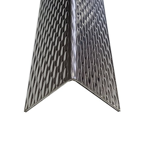Edelstahl 5WL Kantenschutz Winkel 200x4x2 cm (2000x40x20mm) dekorative Schutzleiste 1 mm stark