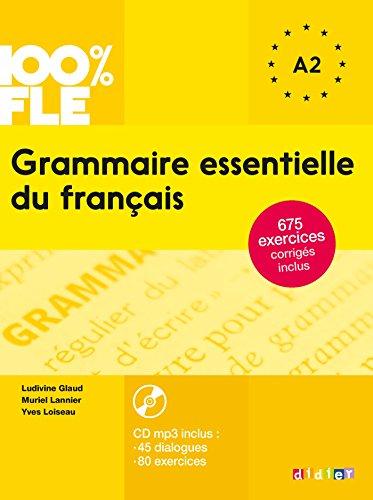 Grammaire essentielle du français niv. A2 - Livre + CD par Ludivine Glaud