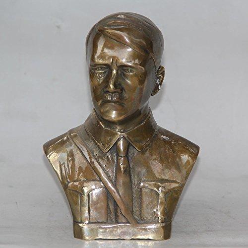 YUNHAO Bronzestatue mit Hitler-Büste, 18 cm