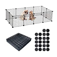 BUONDAC Pet Playpen, for Guinea Pigs, Bunnies, Rabbits,Puppies, 12 Panels