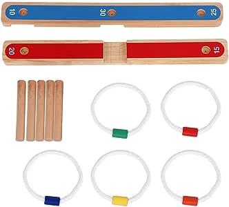 Ring Werfen Hoopla Spiel Werfen Spiel Schleife Ring Spiel Spielzeug f/ür Home Party Freunde Party VGEBY Ring Werfen Spielzeug