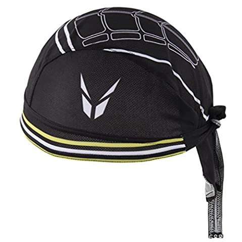 HITOP Black Breathable Outdoor Sports Turban Cycling Skating Headscarf Mountaineering Headscarves