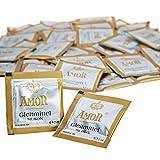 AMOR® Gleitmittel SILICONE, im Sachet, 200ml öl- und fettfreies medizinisches Gleitgel mit Langzeitwirkung in Deutschland hergestellt und getestet (2 ml im 100er Beutel)