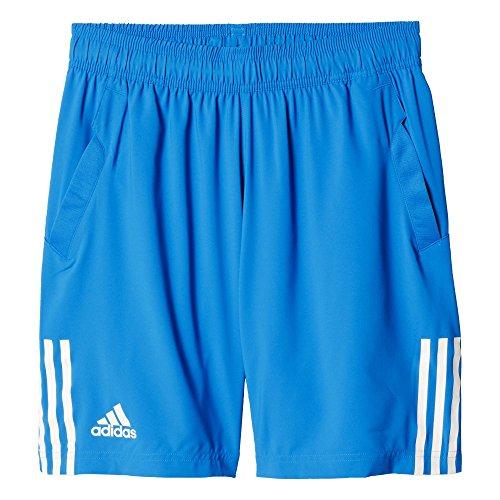 adidas Herren Shorts Club, Blau/Weiß, M