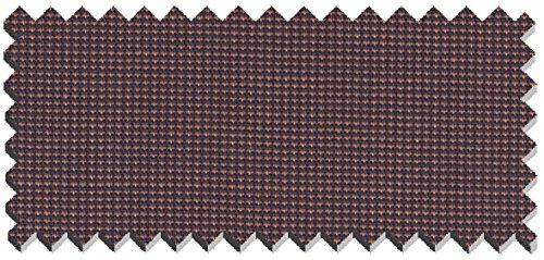 Seidensticker - Herren Hemd, Bügelfrei, Slim, Schwarze Rose mit Kent Kragen in Dunkelblau und Orange (01.676180) Orange (69)