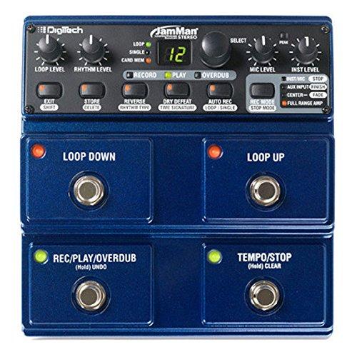 Digitech JamMan Stereo - Equipos de música adicionales (9W, 17.018 cm, 17.373 cm, 7.34 cm) Azul