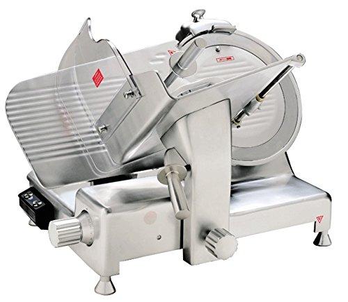 Sirge AFFPROF35A máquina de cortar Profesional 35 cm Cortafiambres semi CARBONO Automatica400 vatios de acero lámina ( 0,5HP ) ,...