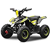 "Eco Quad 800W Madox Deluxe 6"" 36V Kinderquad ATV Pocket Bike Mini"