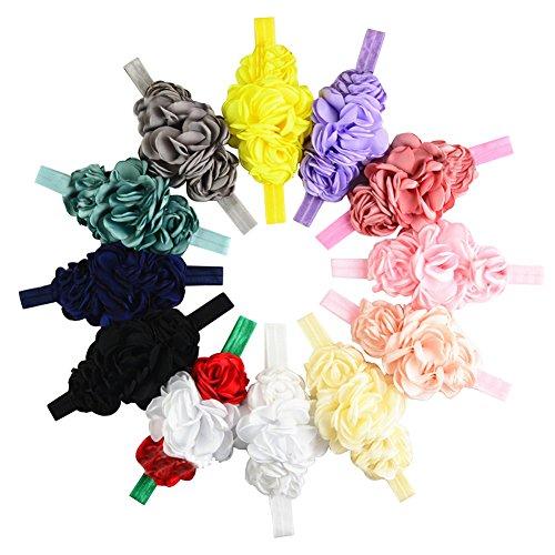 12pcs Surker 2,015 New Style Enfants B¨¦b¨¦ Fille Head D¨¦coration Hairband Bandeau Accessoires