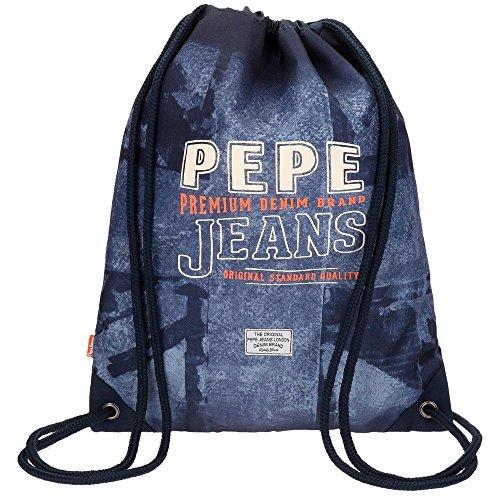 Pepe-Jeans-Dales-Jr-Mochila-Infantil-44-cm-077-Litros-Azul
