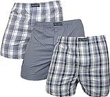 normani 6 x Underwear Boxershorts in Verschiedenen Farben wählbar Farbe Grau Größe XXL