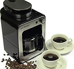 Jack Stonehouse Grind and Brew Bean to Cup Coffee Machine, Coffee Maker One Touch Automatic.
