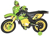 Brunte Ben10 Battery operated Rideon Lean Motor Bike