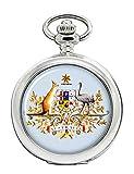 Australien Wappen Taschenuhr