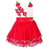 Wish Karo Party wear Baby Girls Frock Dress DNfe195red