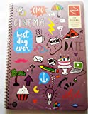 #3: YOUVA -THE ORIGINAL DOODLE SERIES- SPIRAL LOGBOOK Pages 300