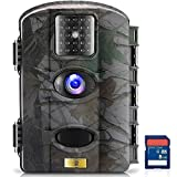 ARTITAN Wildlife Trail Camera 12MP Game Camera Motion Activted Infrared Hunting Cam with Night Vision 65ft/20m IP65 Waterproof for Outdoor Home Security Surveillance Camping with SD Card