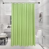 Duschvorhänge polka dots polyester verdicken sie wasserdicht schimmel beweis toilette abgeschnitten tür vorhang vorhang-M