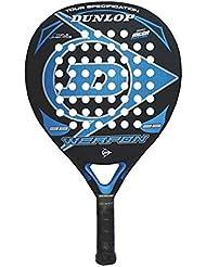 Dunlop Weapon - Pala de pádel, color negro / azul, 38 mm