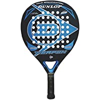 Dunlop Weapon Pala de pádel, Unisex Adulto, Negro/Azul, 38 mm