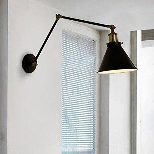 Wandleuchte Treppenhaus kmyx hohe qualität e27 nordic retro style wandleuchte vintage