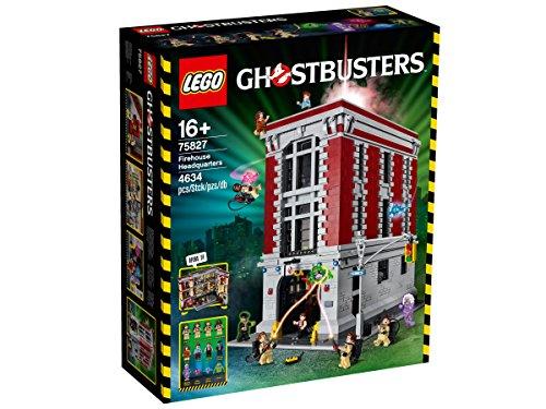 Preisvergleich Produktbild LEGO Ghostbusters 75827 - Feuerwehr-Hauptquartier