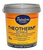 Peinture isolante thermique blanche ravalement façades : Theotherm extérieur 15L
