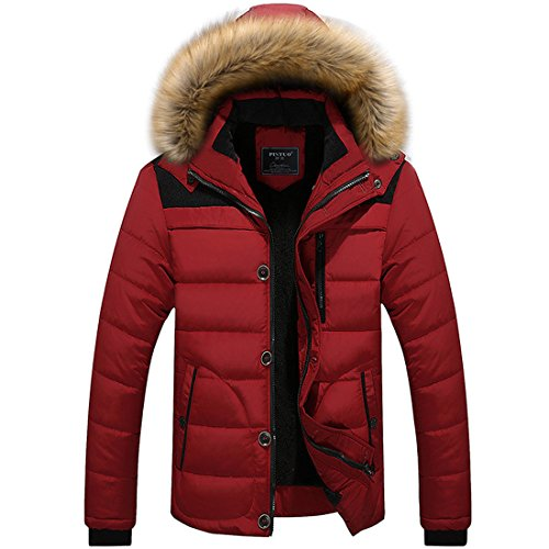 Partiss - Manteau - Homme red