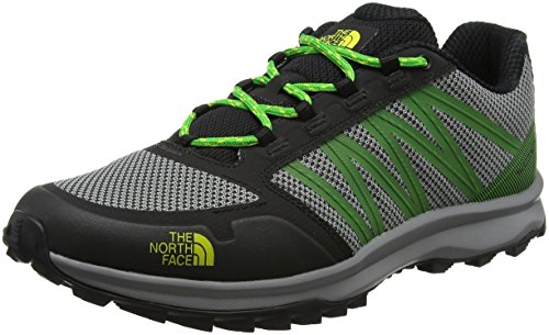 The North Face Litewave Fastpack, Stivali da Escursionismo Uomo Nero (Tnf Black/classic Green)