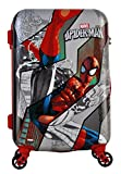 #9: Marvel Gamme Spiderman Polycarbonate 20 Inchs Multi coloured Hard Sided Kid's Luggage Trolley Bag